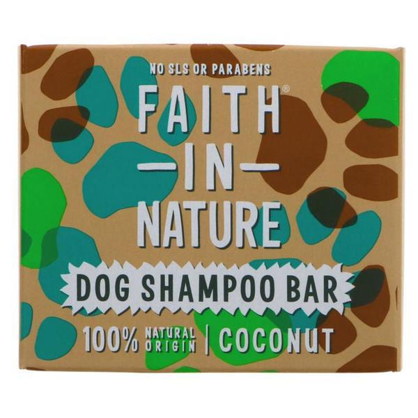 Coconut Dog Shampoo Bar