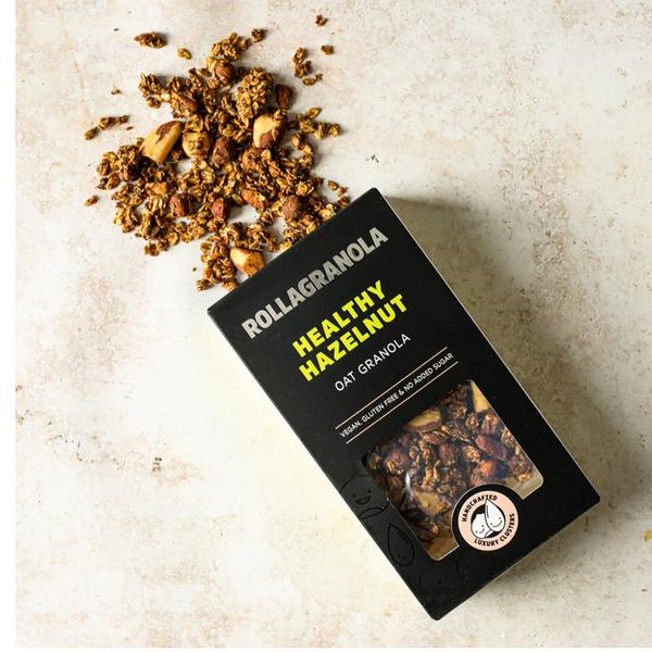 Healthy Hazelnut Oat Granola