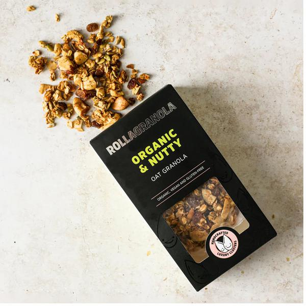 Nutty Oat Granola Gluten Free, ORGANIC