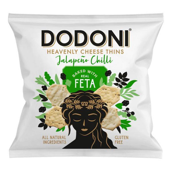 Jalapeno & Chilli Feta Thins