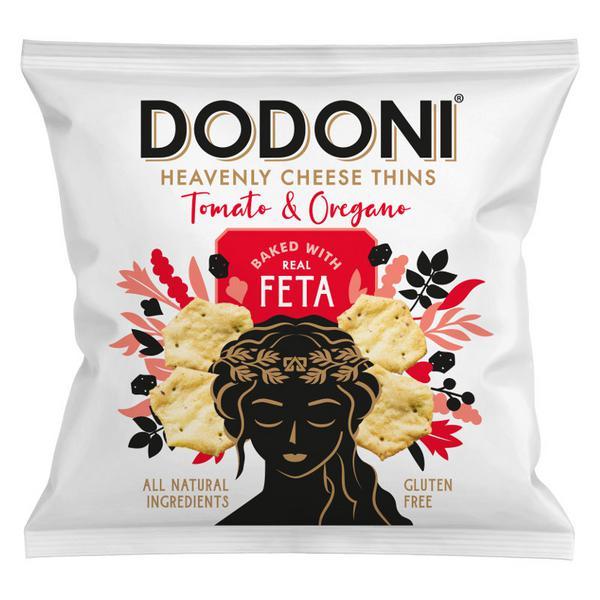 Tomato & Oregano Feta Thins