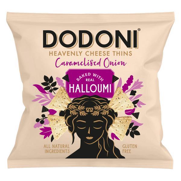 Caramelised Onion Halloumi Thins
