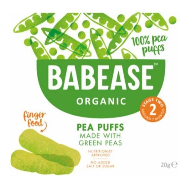Organic Pea Puffs 7 Months