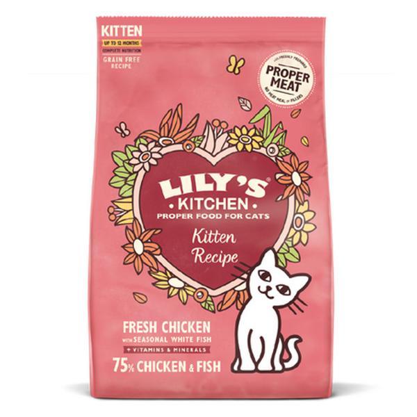 Chicken & White Fish Dry Cat Food ORGANIC