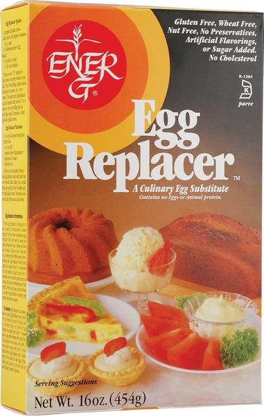 Egg Replacer dairy free, egg free, Gluten Free