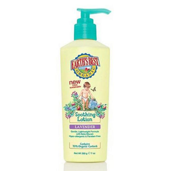 Earth's Best Lavender Lotion Everyday