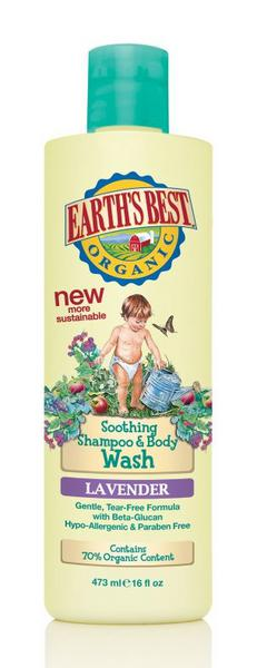 Earth's Best Lavender Shampoo & Bodywash