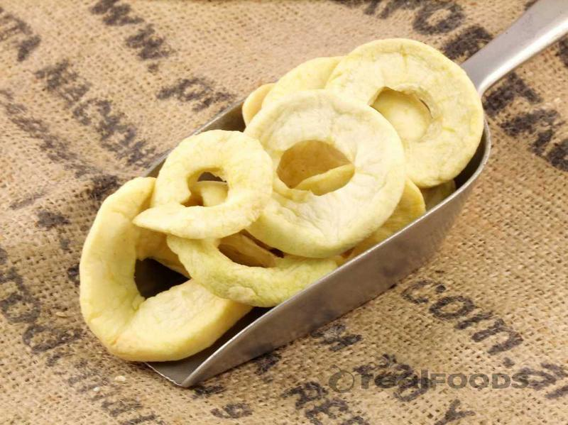 Apples Rings With SO2