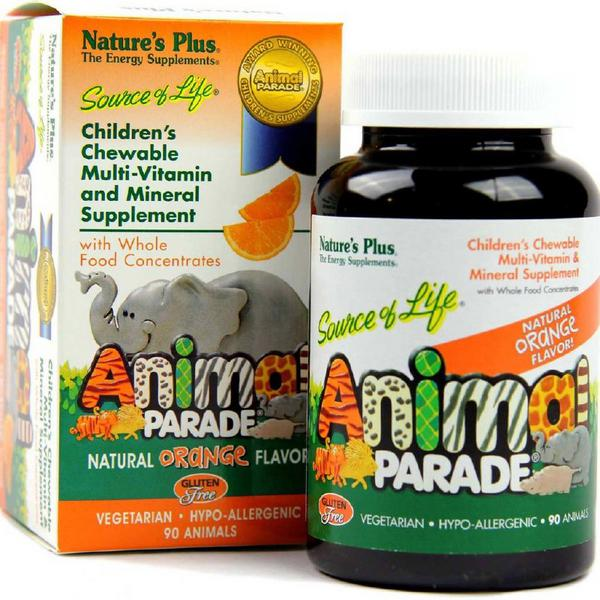 Animal Parade Vitamins Chewable
