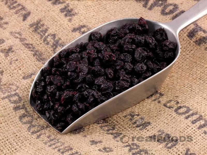 Dried Blueberries added sugar