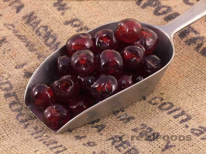 Glace Cherries Red Natural Colour Whole