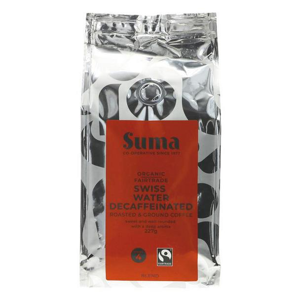 Ground Coffee Decaffeinated, FairTrade, ORGANIC