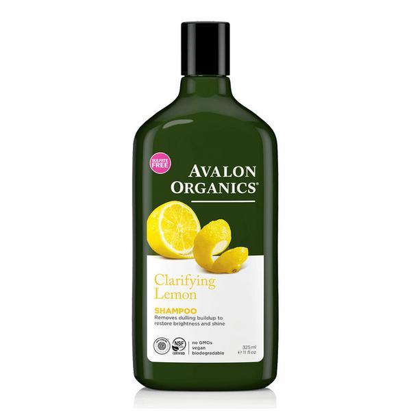 Lemon Shampoo In 325ml From Avalon Organic Botanicals