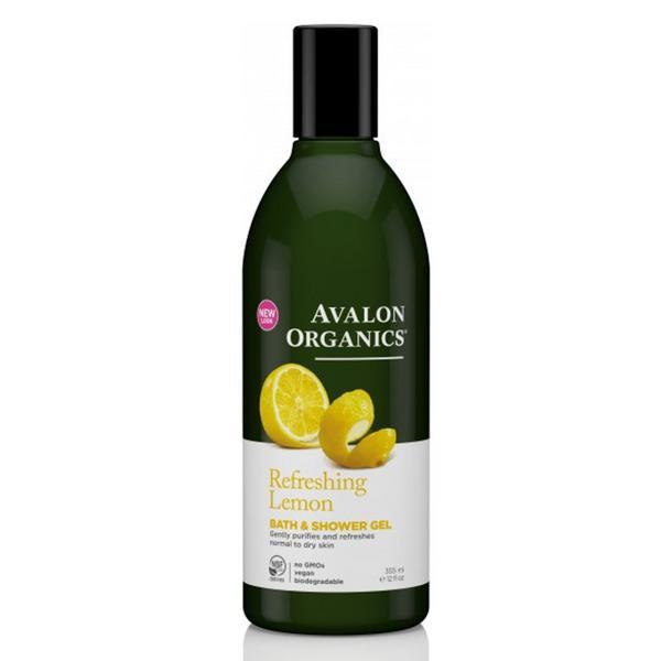 Lemon Bath & Shower Gel Vegan, ORGANIC