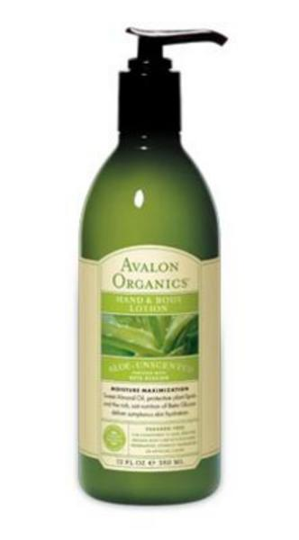 Aloe Unscented Hand & Body Lotion