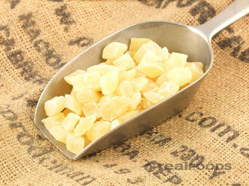 Diced Pineapple with SO2 added sugar