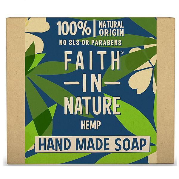 Hemp,Lemongrass & Green Tea Soap Wrapped