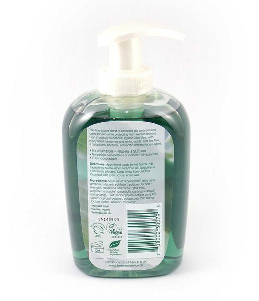 Aloe Vera & Tea Tree Hand Wash Vegan image 2