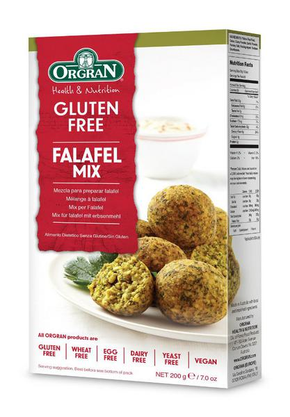Falafel Mix Gluten Free, Vegan