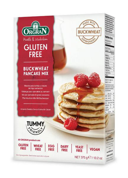 Buckwheat Pancake Mix gluten free, yeast free, wheat free
