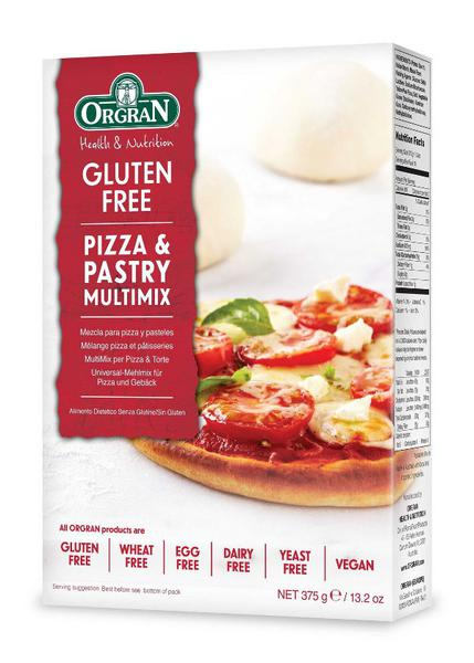 Pizza & Pastry Mix Gluten Free, Vegan