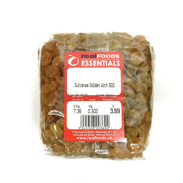 Golden Sultanas With SO2 South Africa  image 2