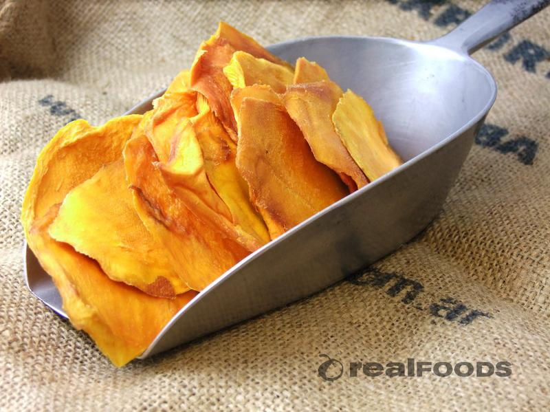 Organic Mango Slices Sun Dried From Real Foods Buy Bulk