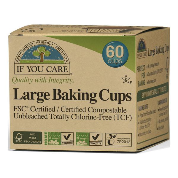 Baking Cups Large Vegan