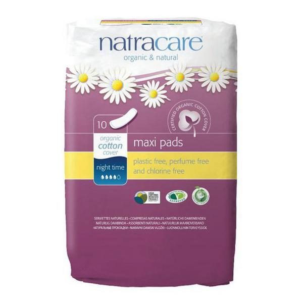 Night Time Pads ORGANIC