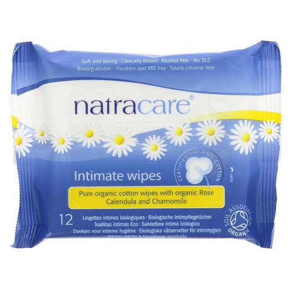 Intimate Cotton Wipes Vegan, ORGANIC