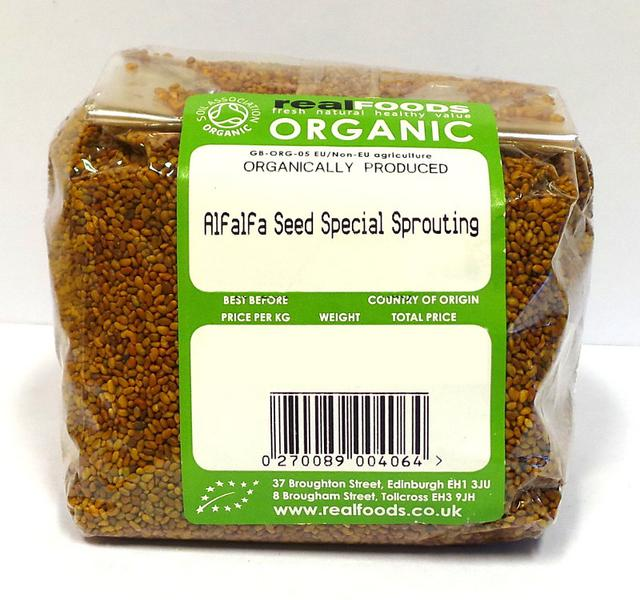Special Sprouting Alfalfa Seed ORGANIC image 2