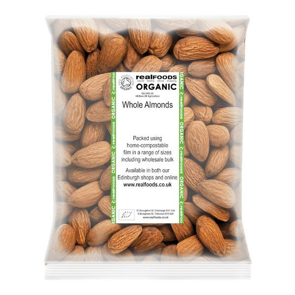 Whole Almonds ORGANIC image 2