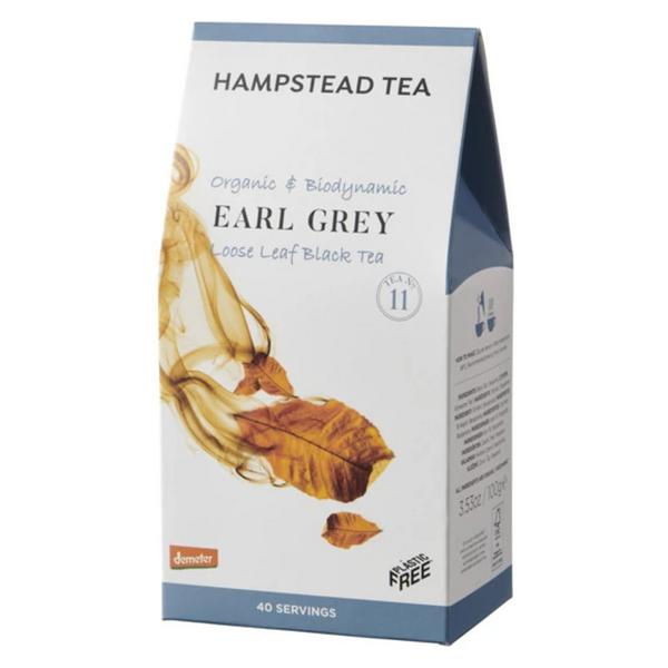 Earl Grey Tea Leaves FairTrade, ORGANIC