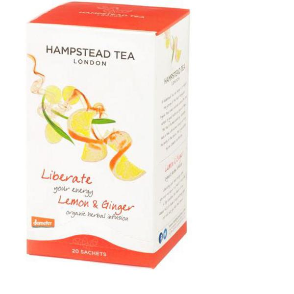 Lemon & Ginger Tea FairTrade, ORGANIC