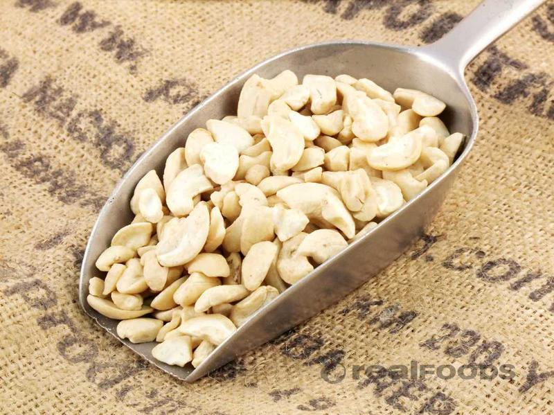 White Cashew Nuts Pieces