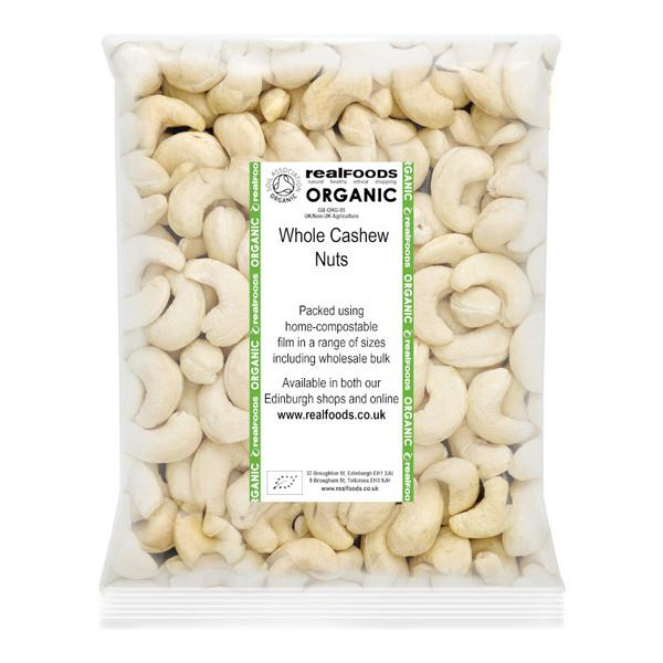 Cashew Nuts Whole ORGANIC image 2