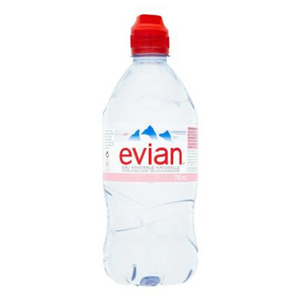 Water Sports Cap In 75cl From Evian