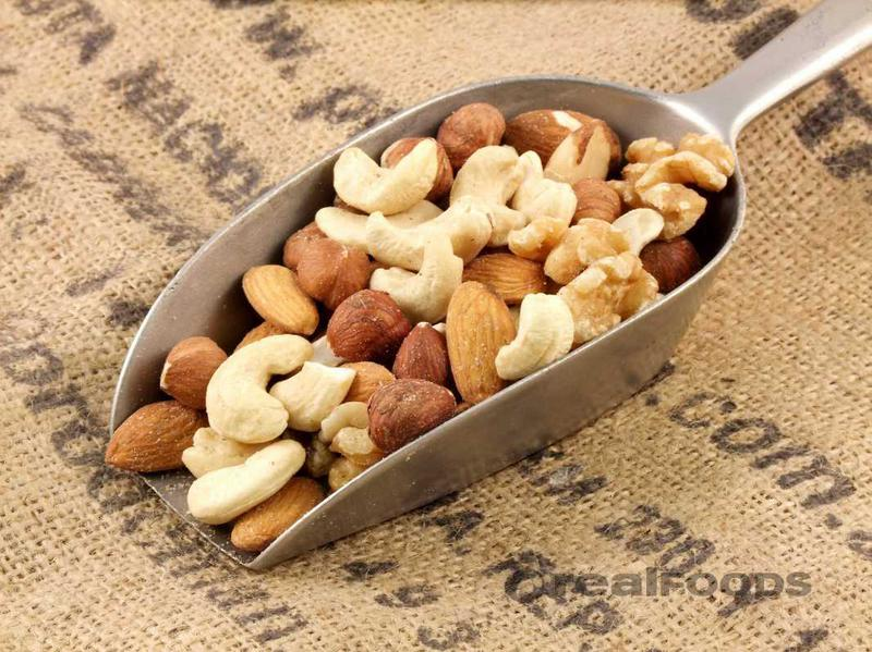 mixed nuts 5 nuts whole from real foods buy bulk wholesale. Black Bedroom Furniture Sets. Home Design Ideas