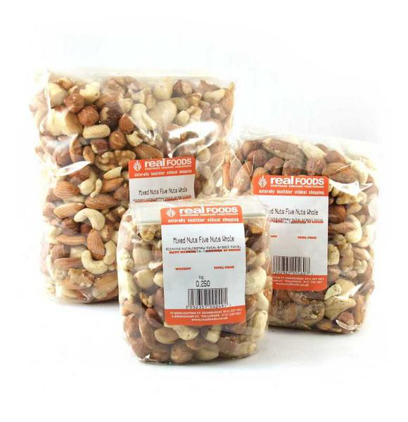Mixed Nuts 5 Nuts Whole No Gluten Containing Ingredients image 2