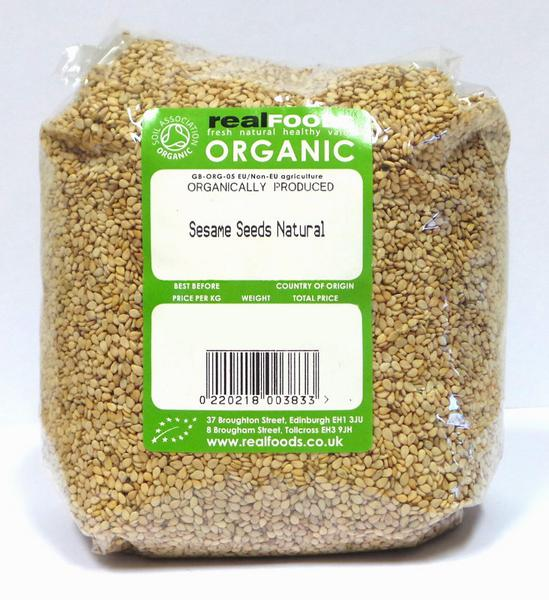 Natural Sesame Seeds ORGANIC image 2