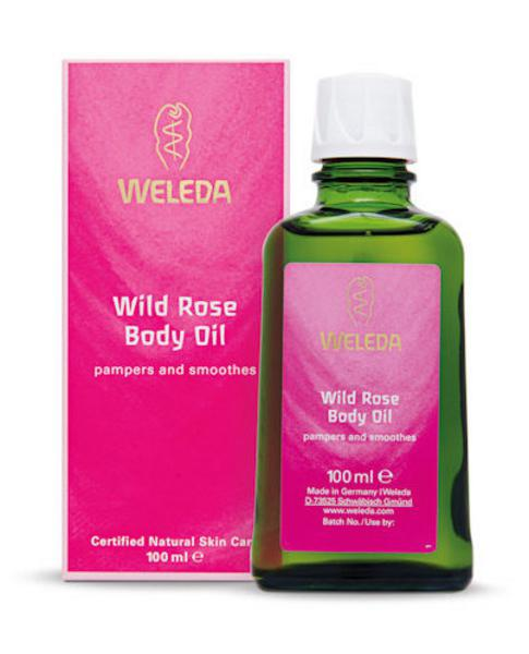 Wild Rose Body Oil Vegan
