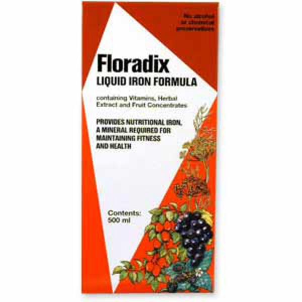 Floradix Liquid Iron Formula Supplement