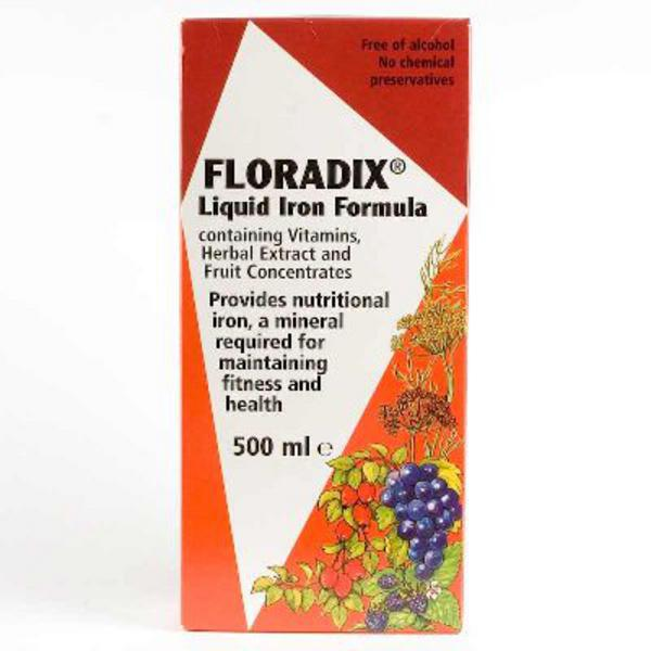 Floradix Liquid Iron Formula Supplement  image 2