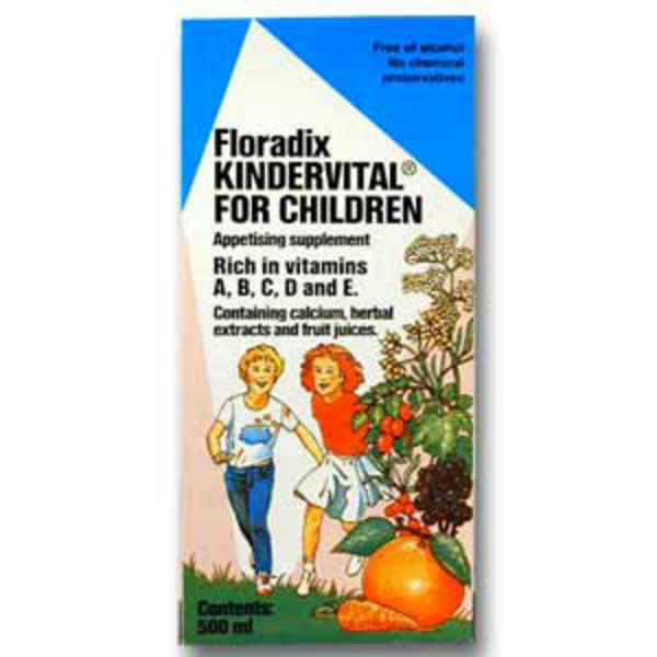 Floradix Kindervital Formula For Children Supplement