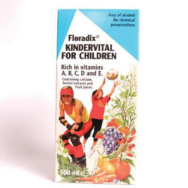 Floradix Kindervital Formula For Children Supplement  image 2