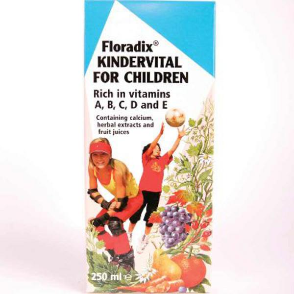 Floradix Kindervital Formula For Children Supplement  image 2