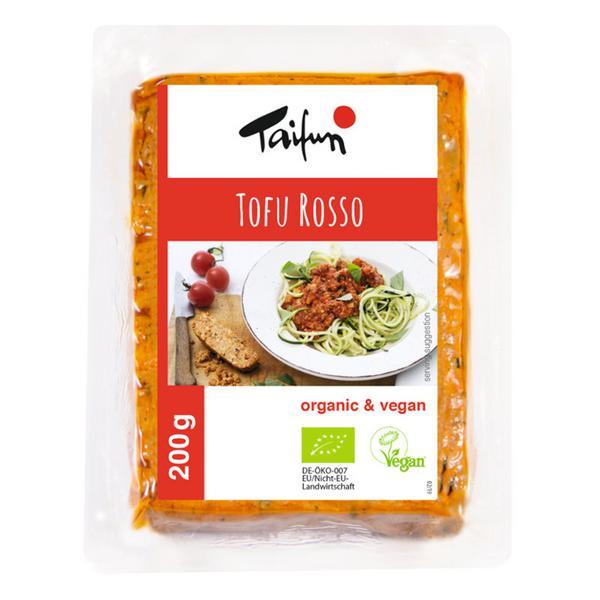 Rosso Tofu Vegan, ORGANIC