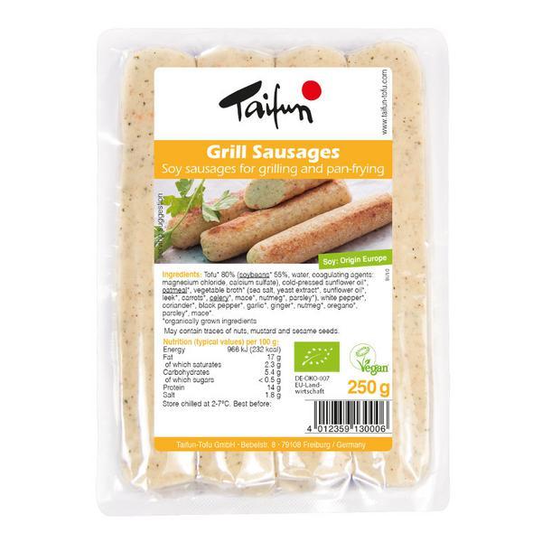 Grill Sausage Tofu Vegan, ORGANIC