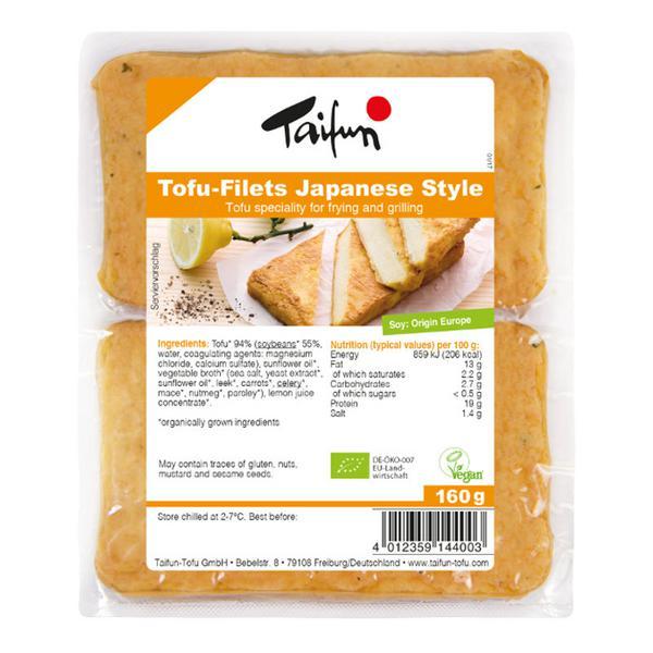 Japanese Style Tofu Fillets Demeter ORGANIC