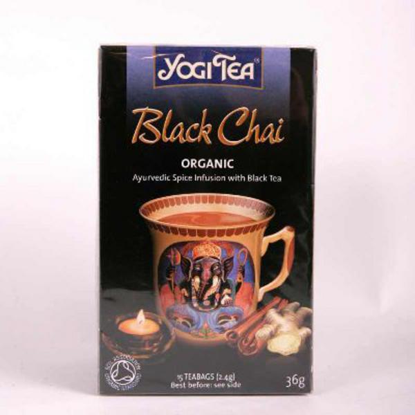 Black Chai Tea ORGANIC image 2